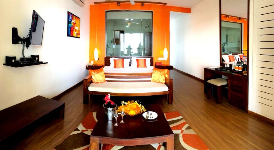 sea escape deluxe rooms at CoCoBay the best accommodation in Unawatuna
