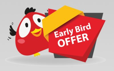 EARLY BIRD 40%